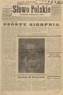 Słowo Polskie. 1932, nr215