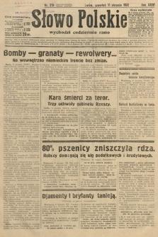 Słowo Polskie. 1932, nr219