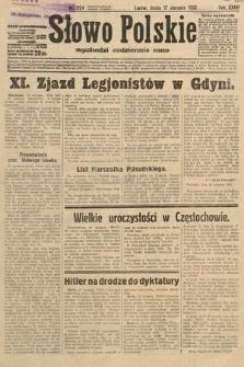 Słowo Polskie. 1932, nr224
