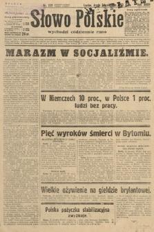 Słowo Polskie. 1932, nr231