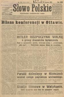 Słowo Polskie. 1932, nr232