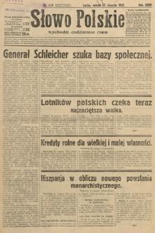 Słowo Polskie. 1932, nr234