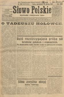 Słowo Polskie. 1932, nr236