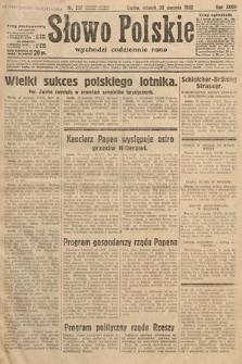 Słowo Polskie. 1932, nr237