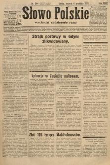Słowo Polskie. 1932, nr244