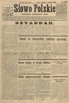 Słowo Polskie. 1932, nr246