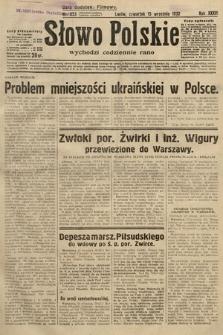 Słowo Polskie. 1932, nr253