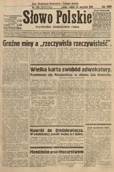 Słowo Polskie. 1932, nr262