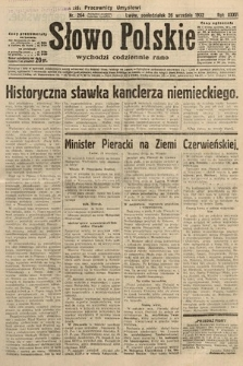 Słowo Polskie. 1932, nr264