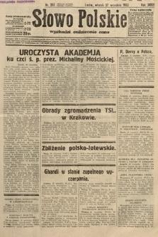 Słowo Polskie. 1932, nr265