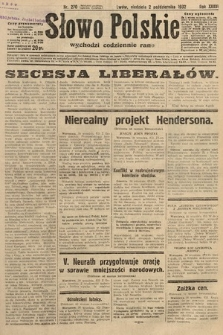 Słowo Polskie. 1932, nr270