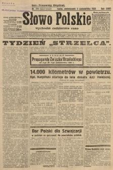 Słowo Polskie. 1932, nr271