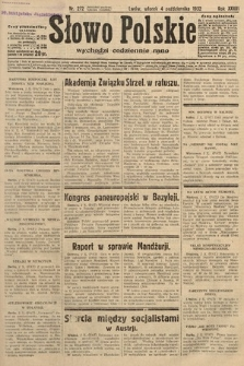 Słowo Polskie. 1932, nr272