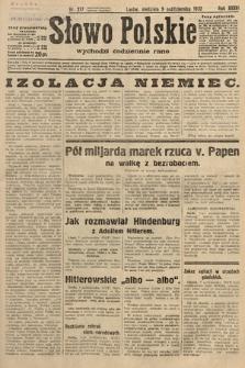Słowo Polskie. 1932, nr277