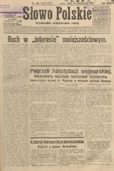 Słowo Polskie. 1932, nr282