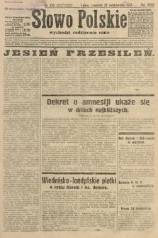 Słowo Polskie. 1932, nr295