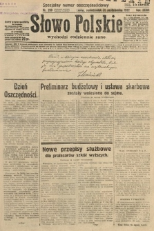 Słowo Polskie. 1932, nr299