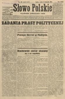 Słowo Polskie. 1932, nr301
