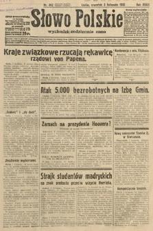 Słowo Polskie. 1932, nr302
