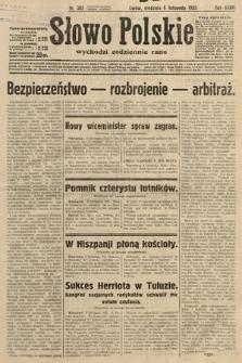 Słowo Polskie. 1932, nr305