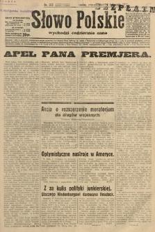 Słowo Polskie. 1932, nr313