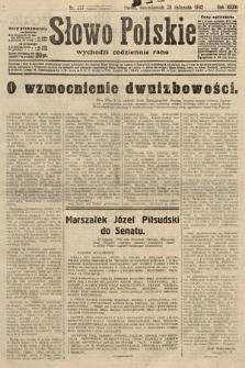 Słowo Polskie. 1932, nr327