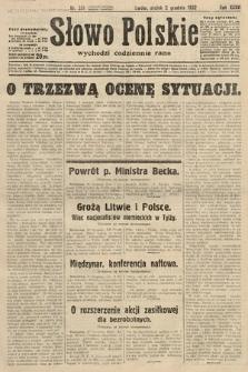 Słowo Polskie. 1932, nr331