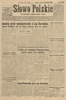 Słowo Polskie. 1932, nr339