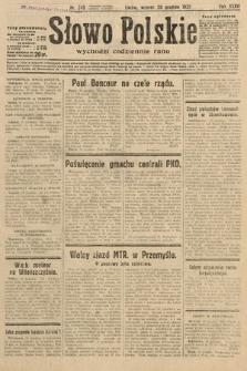 Słowo Polskie. 1932, nr349