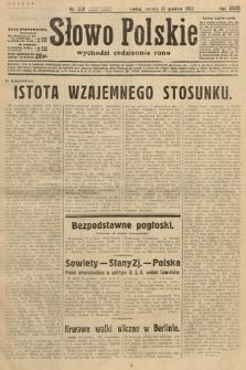 Słowo Polskie. 1932, nr358