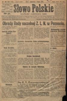 Słowo Polskie. 1926, nr178