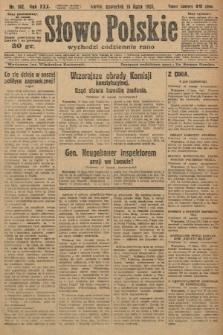 Słowo Polskie. 1926, nr192