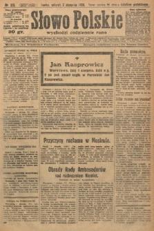 Słowo Polskie. 1926, nr211