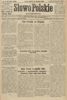 Słowo Polskie (poniedziałkowe). 1923, nr2 (15)