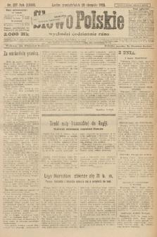 Słowo Polskie. 1923, nr227