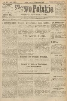 Słowo Polskie. 1923, nr315