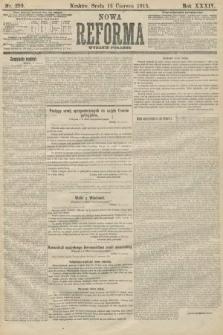 Nowa Reforma (wydanie poranne). 1915, nr299