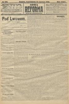 Nowa Reforma (wydanie popołudniowe). 1915, nr309