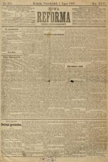 Nowa Reforma (numer popołudniowy). 1907, nr295