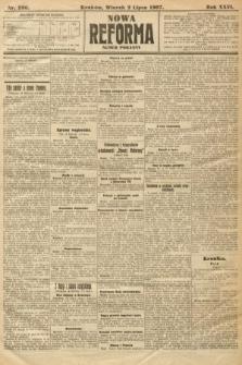 Nowa Reforma (numer poranny). 1907, nr296