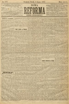 Nowa Reforma (numer popołudniowy). 1907, nr299