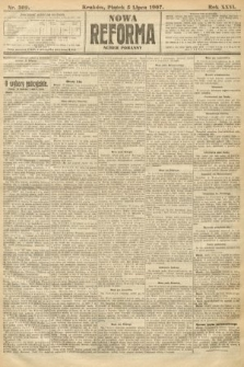 Nowa Reforma (numer poranny). 1907, nr302