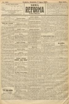 Nowa Reforma (numer poranny). 1907, nr306