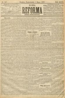 Nowa Reforma (numer popołudniowy). 1907, nr307