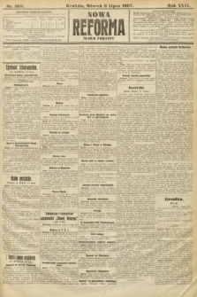 Nowa Reforma (numer poranny). 1907, nr308
