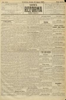 Nowa Reforma (numer poranny). 1907, nr310