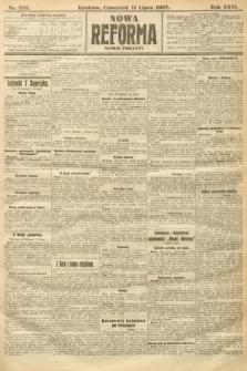 Nowa Reforma (numer poranny). 1907, nr312