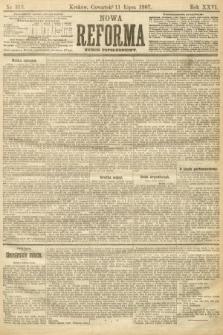 Nowa Reforma (numer popołudniowy). 1907, nr313