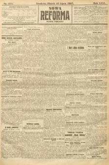 Nowa Reforma (numer poranny). 1907, nr314