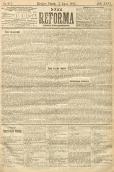 Nowa Reforma (numer popołudniowy). 1907, nr315